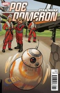 Poe Dameron #1, variant cover di Joe Quinones