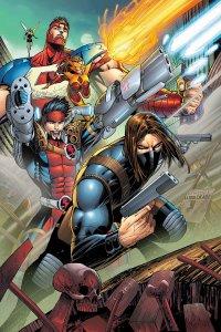 Thunderbolts #1, copertina di Jon Malin