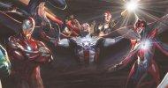 Marvel: la spettacolare illustrazione di Alex Ross per le copertine dei Nuovissimi Avengers