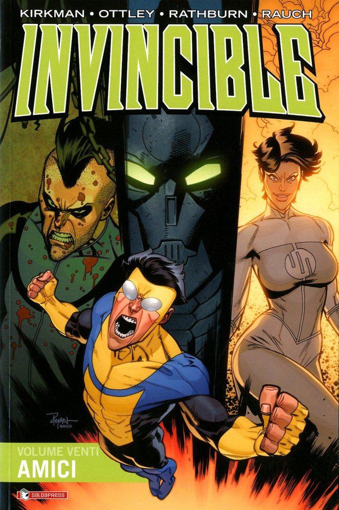 Invincible vol. 20: Amici, copertina di Ryan Ottley