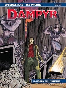 Speciale Dampyr 12: La porta dell'Inferno, copertina di Enea Riboldi