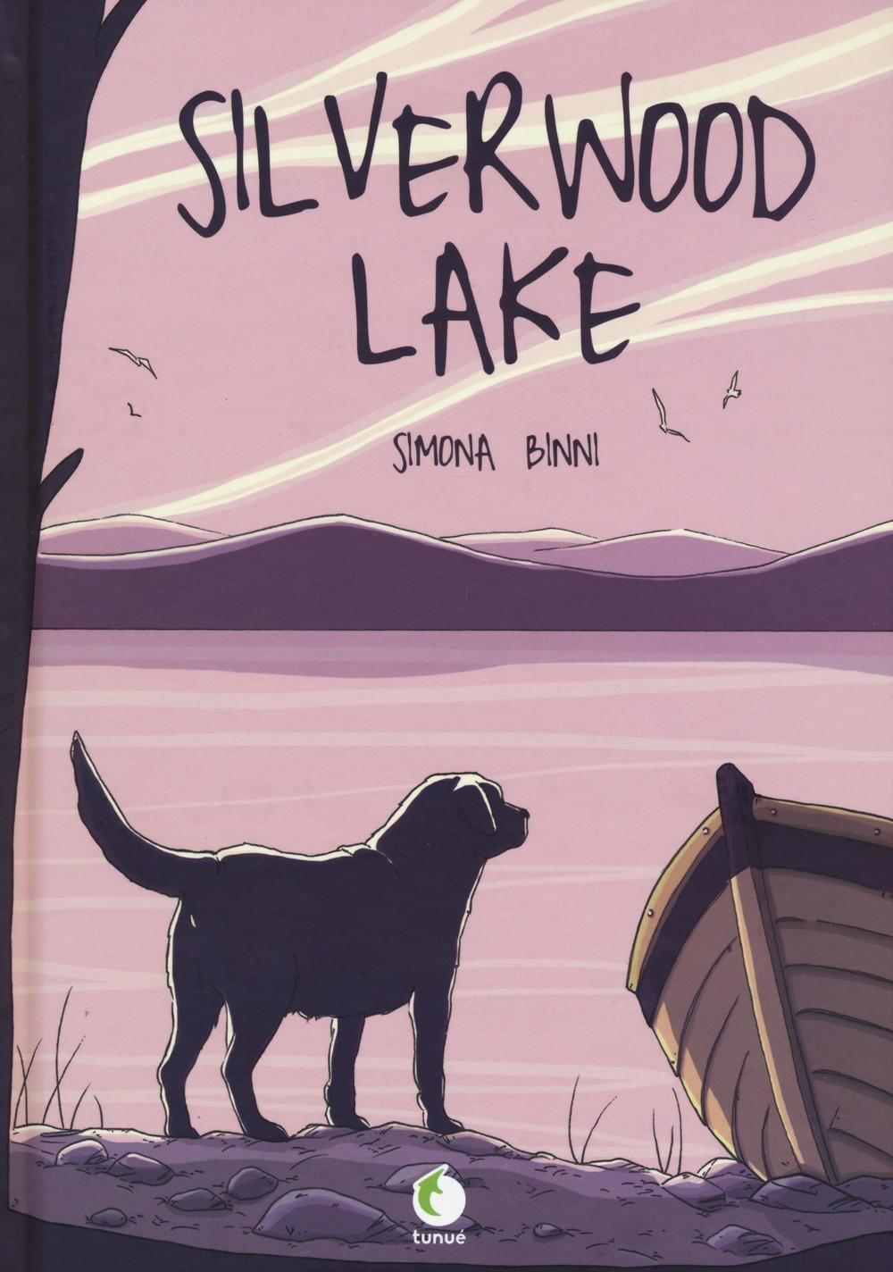 Silverwood Lake, copertina di Simona Binni