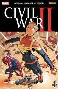 Civil War II 4, copertina di Marko Djurdjevic
