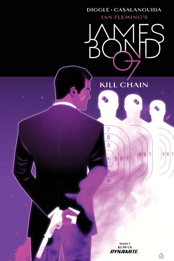 James Bond 007: Kill Chain #1, copertina B di Juan Doe