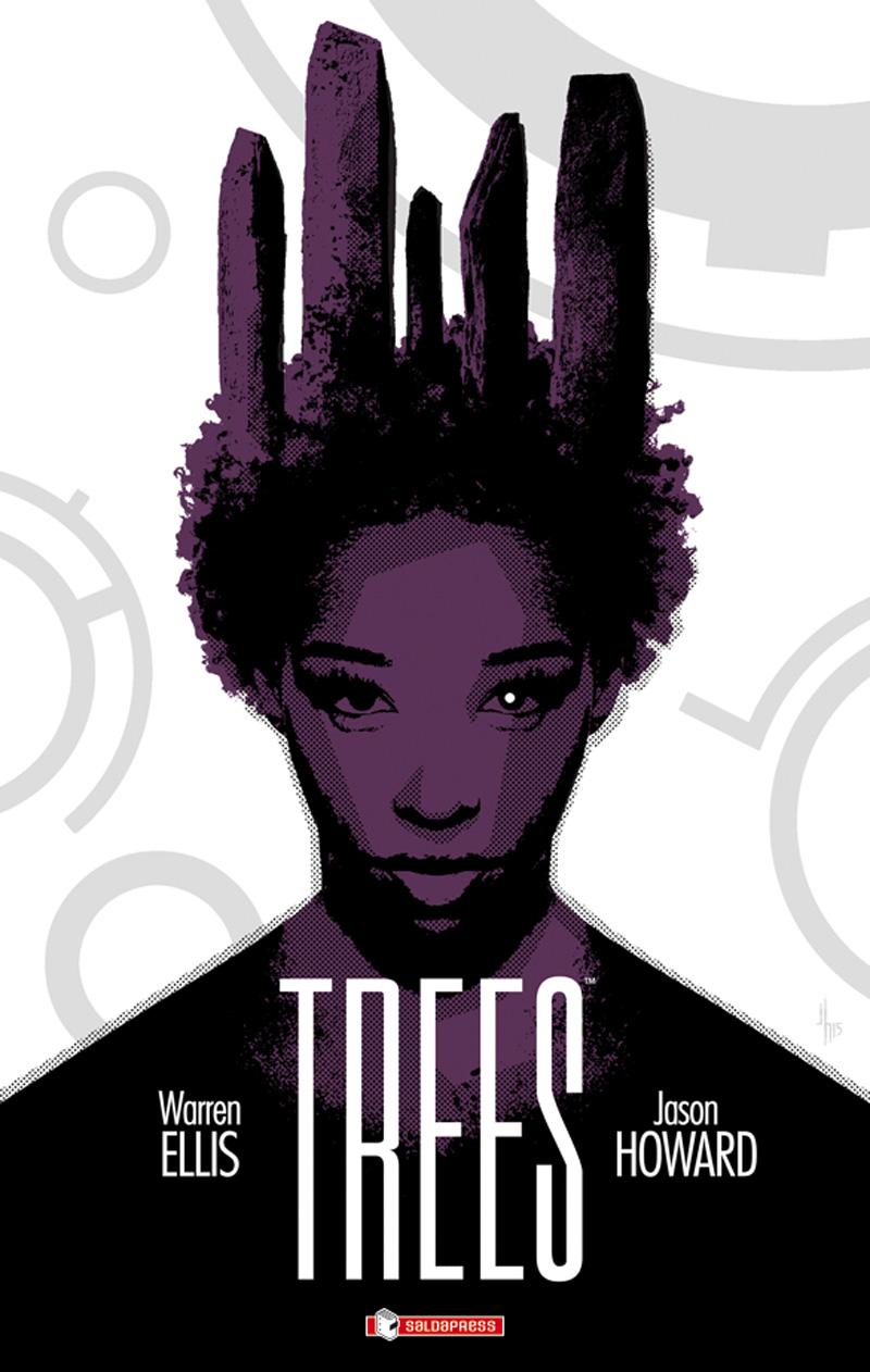 Trees vol. 2: Due foreste, copertina di Jason Howard