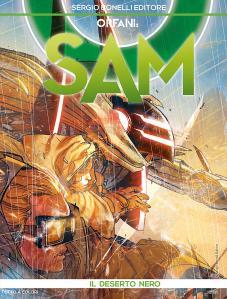 Orfani - Sam 3, copertina di Carmine Di Giandomenico, colori di Giovanna Niro