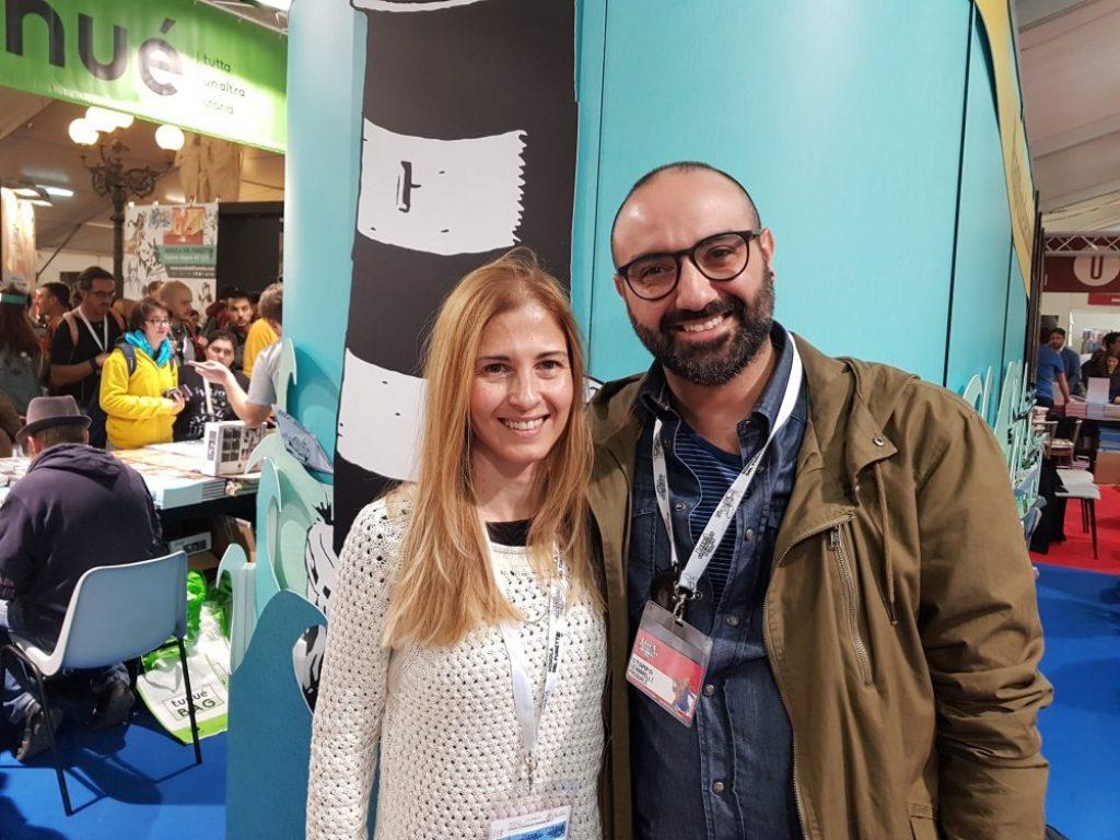 Simona Binni e Pasquale Gennarelli