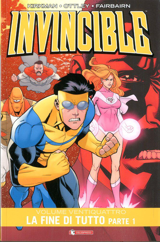 Invincible vol. 24: La Fine di Tutto - Parte 1, copertina di Ryan Ottley