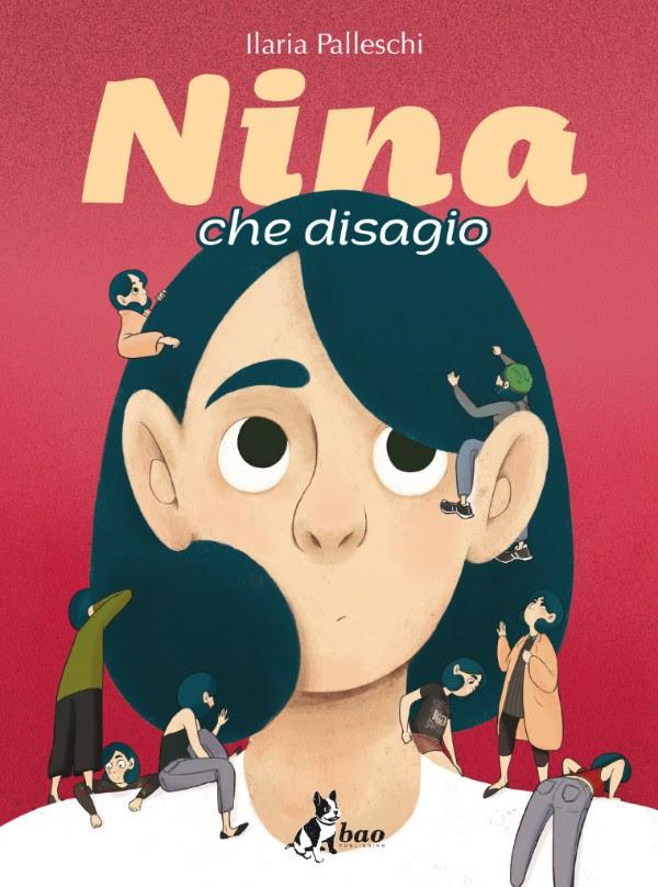 Nina che disagio, copertina di Ilaria Palleschi