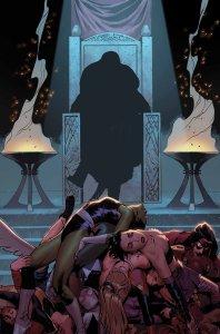 A-Force #4, copertina di Jorge Molina