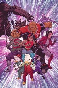 Howard The Duck #5, copertina di Joe Quinones