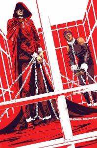 Illuminati #5, copertina di Riley Rossmo