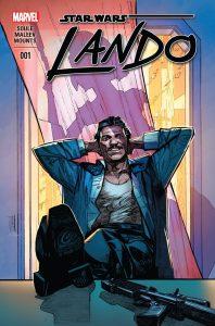 Lando #1, copertina di Alex Maleev