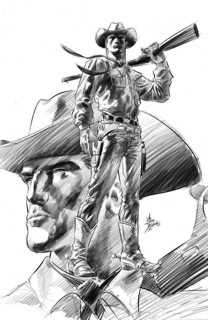 Tex di Mike Deodato Jr. - matite