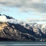 Bob Braine, View from Queenstown, New Zealand