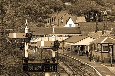 David Bailes- Llangollen Railway Station
