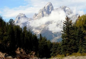 The Grand Teton Mountain - Pam