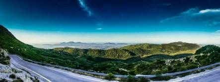 View to Corfu town R Huckett