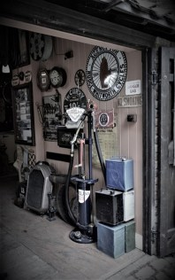 My old Dad's garage (Tanya Wren) 2