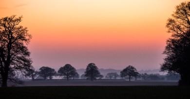Fran - sunset at margretting