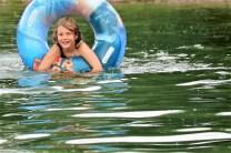 Sommerferienzeit am BadeseeMieming. Foto: Knut Kuckel / #tirolbayern