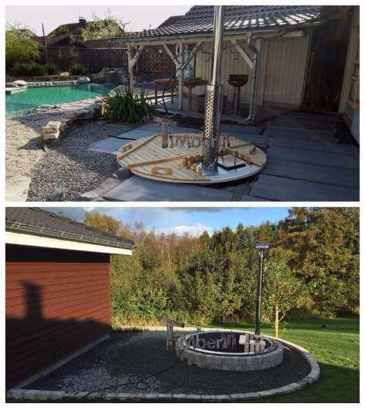 Hot Tub Terrassenmodell Installationsbeispiele TimberIN 3