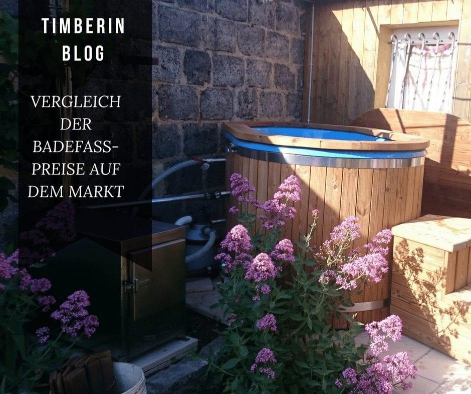 Vergleich der Badefass-Preise auf dem Markt