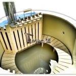 Badetonne-mit-Kunststoffeinsatz-2-LED-und-Filtration-18-150x150 Badetonne Badefass 240