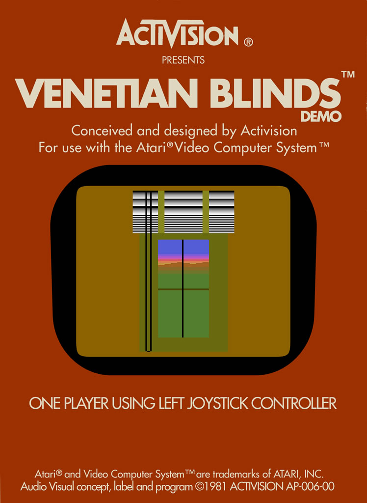 Venetian Blinds Bad Game Hall Of Fame