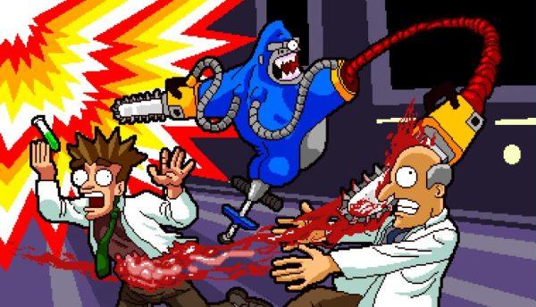 BadSurfer Bionic Chainsaw Pogo Gorilla screenshot