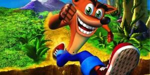 Crash Bandicoot megaslide