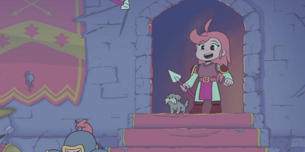 Battle Princess Madelyn megaslide