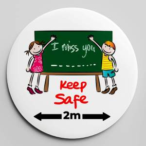 KIDS FRIENDSHIP BADGE