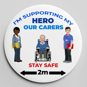 HERO CARE BADGE