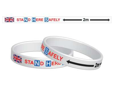 SUPPORT THE NHS WRIST BAND (3 Sizes Available)