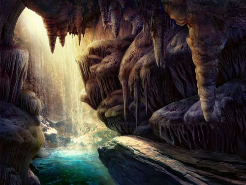 Claire Hart - Tropical Thief - Waterfall Cave