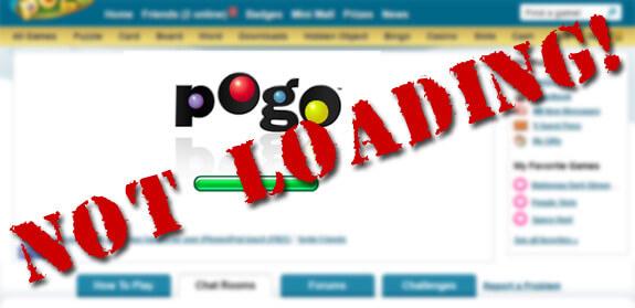 Pogo Games: Not Loading