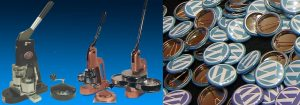 Button Machines and Button Parts