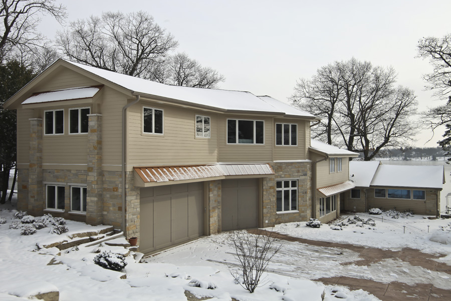 Two story addition basement badger carpentry inc for Garage addition cost estimator