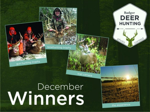 December Deer Hunting Photo Contest winners are… - Badger ...
