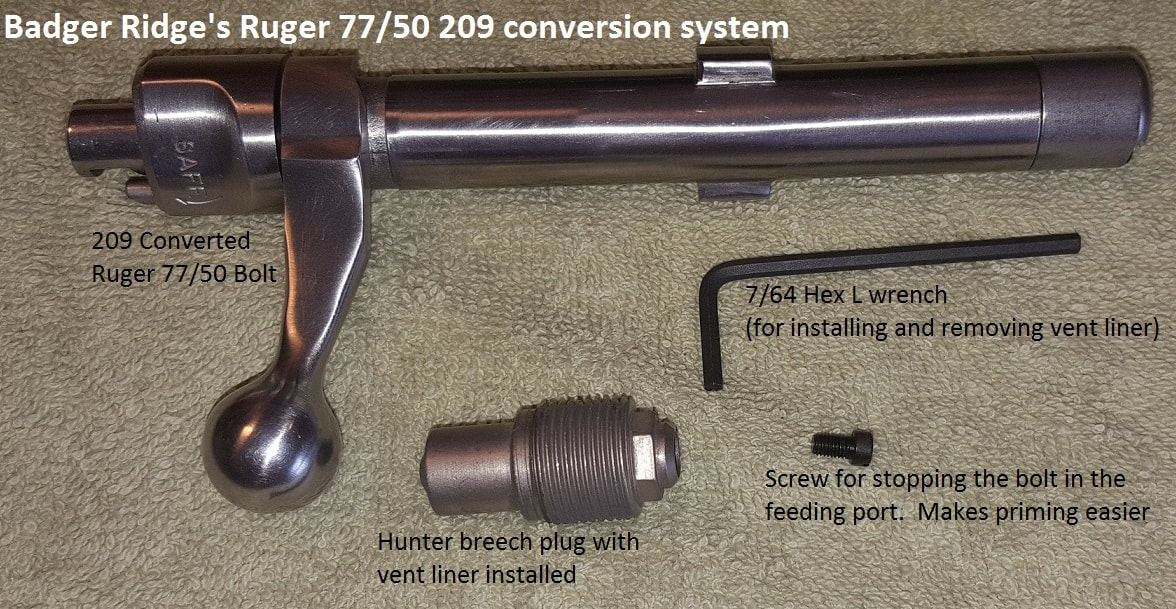 Knight Breech Plug Conversion