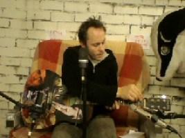 Hal Camplin recording with badgertrap