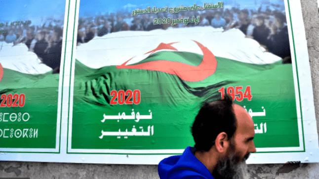 مقاطعة واسعة لاستفتاء الدستور الجزائري