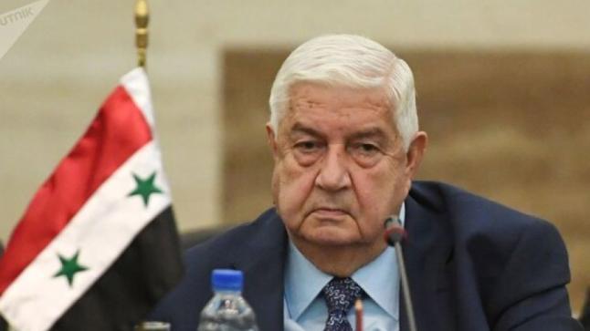 وفاة وزير الخارجية السوري