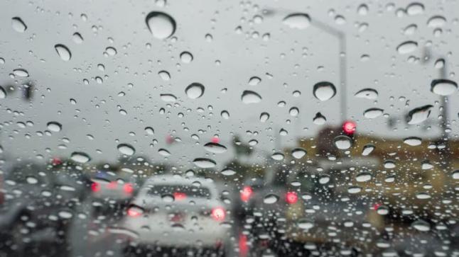 الطقس..نزول أمطار مع زخات رعدية