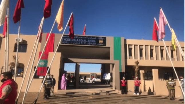 أمزازي يدشن مؤسسات تعليمية بإقليم شيشاوة