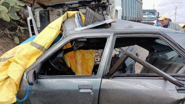 إصابة 5 أساتذة بجروح خطيرة في حادثة سير