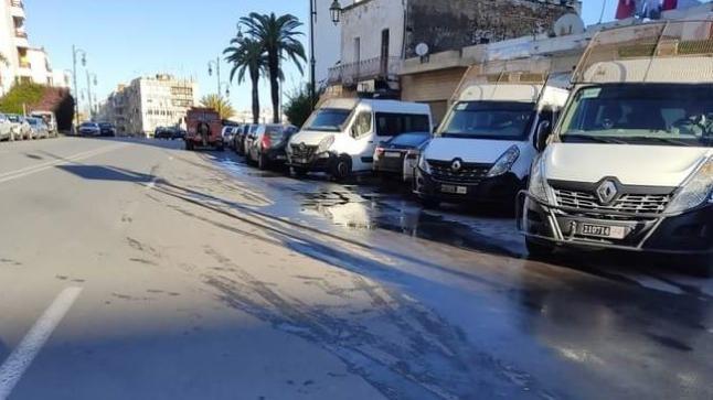 إنزال أمني قرب مقر المديرية العامة لبريد المغرب