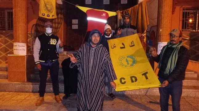 اليوسفية: اعتصام عمال النظافة الموقوفون يشارف على الشهرين