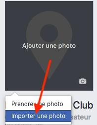 Importer une photo de profil